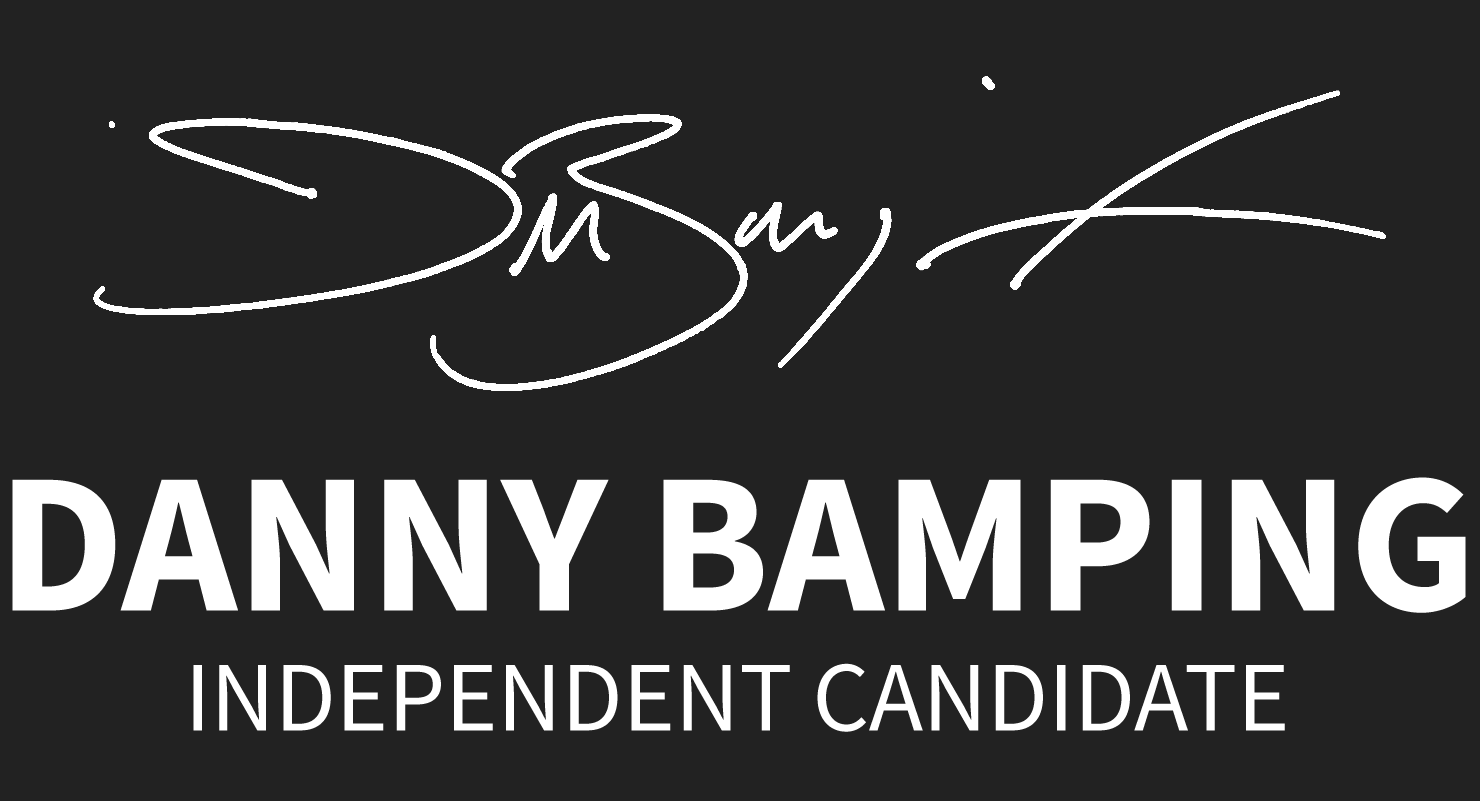 Danny Bamping Independent Candidate